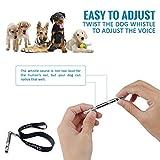 LUPO® Premium Hunde Pfeife um Bellen zu stoppen Gehorsamkeit Abweisend Haustier Training Hilfe - 5