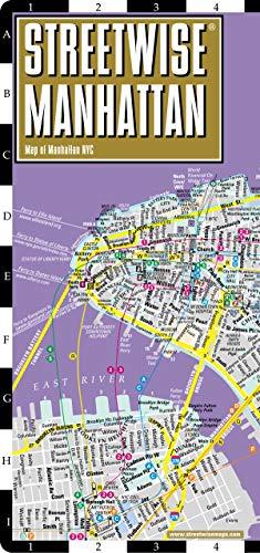 Streetwise Manhattan, 1/27 000 : Map of Manhattan NYC
