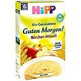 Hipp biologique et des céréales Bonne porridge Matin Bircher Muesli 250g