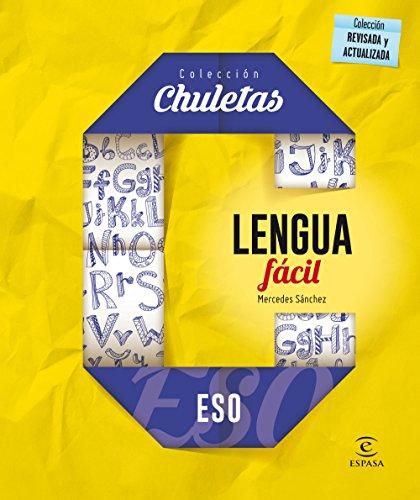 Lengua fácil para la ESO (CHULETAS) por Mercedes Sánchez