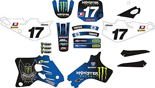 Yamaha YZ80YZ 80-939495969798990001Kit moto-x MX Aufkleber Sticker Kit (nicht Oem) (Yz Yamaha Moto)