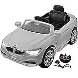 vidaXL Kinderauto mit Fernbedienung Weiß Kinderfahrzeug Elektroauto Cabriolet