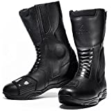 Agrius Alpha Motorcycle Boots 43 Black (UK 9) - Best Reviews Guide