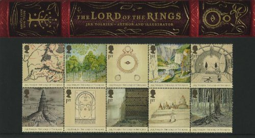 2004 Lord of the Rings Stamps in Presentation pack - Herr Sammlung Ringe Der Komplette