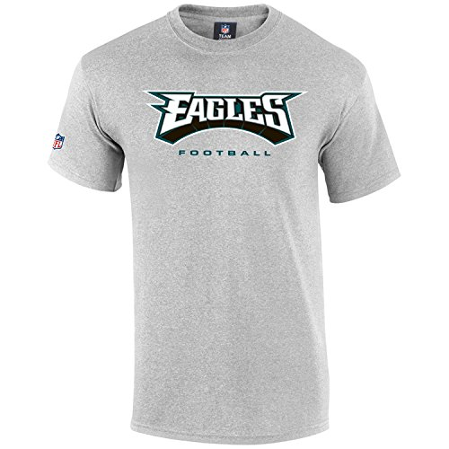 Majestic Our Team Shirt - Philadelphia Eagles Grau - S (Eagles Philadelphia Top)