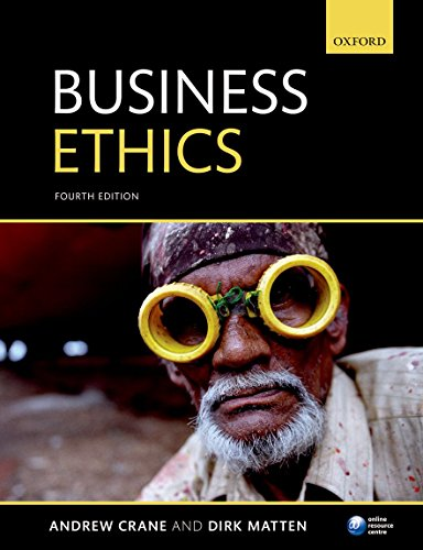 Business Ethics: Managing Corporate Citizenship and Sustainability in the Age of Globalization (Csr-matte)