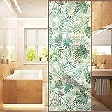 JJLESUN2 Aufkleber An Der Tür Klebefolie Wasserdichtes Badezimmer Glasschiebetür Aufkleber Flamingo Glasmalerei Aufkleber Für Windowz