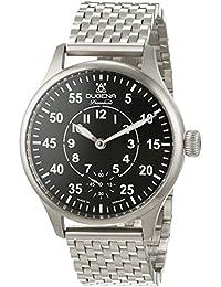 """'Dugena–Reloj de pulsera hombre Epsilon 6""""Planeador Analog cuerda manual acero inoxidable 7090060"""