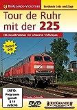 Tour de Ruhr mit der 225 - DB-Dieselbrummer vor schweren Stahlzügen