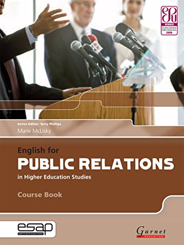English For Public Relations In Higher Education Studies. Course Book (+2 Audio CD)
