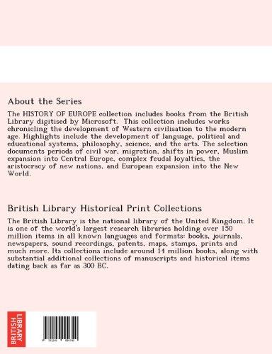 La  Suisse Historique Et Pittoresque, Comprenant L'Histoire, La GE Ographie Et La Statistique de Ce Pays Premie Re Partie: La Suisse Historique Par E.