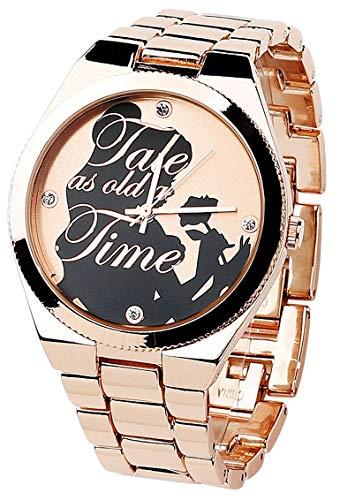 Die Schöne und das Biest La Belle Et La Bête Tale As Old As Time Montres bracelets couleur or