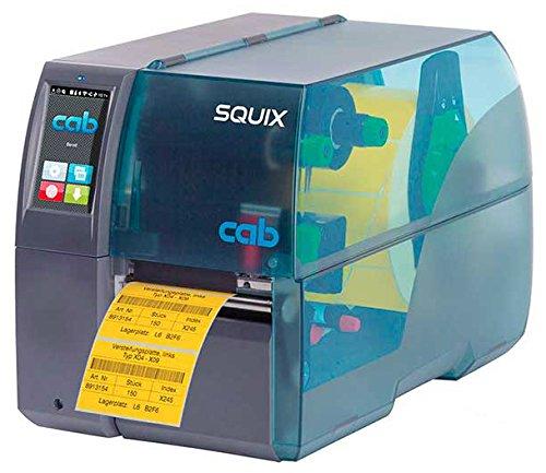 Cab squix Thermal Transfer Schrumpfschlauch und Label Drucker mit Software Cab A4+ (Thermal Transfer Drucker)
