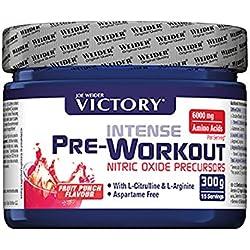Weider Intense Pre-Workout, Fórmula Pre-Entrenamiento, Sabor Fruit Punch - 300 gr