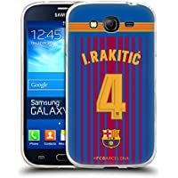 Official FC Barcelona I. Rakitic 2017/18 Players Home Kit Group 1 Soft Gel Case for Samsung Galaxy Grand Neo