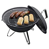Dangrill Mini Barbecue Kettle Griglia A Carbone Picnic Terrazzo Ø 37 x 44 cm Antracite
