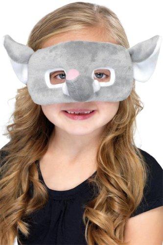 Smiffy's 39952 - Kinder Plüsch Eyemask Elefant, (Plüsch Elefant Augenmaske)