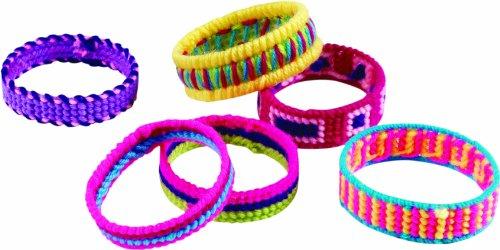 Imagen principal de John Adams Fun To Do Cross Stitch Bracelets - Juego para crear pulseras