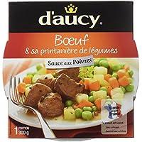 d'aucy Bœuf Sauce aux Poivres/Ses Petits Légumes 300 g