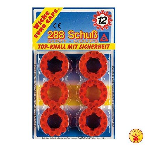 12-Schuss-Ring-Munition (288 Schuss) Top-Knall mit Sicherheit Top 12