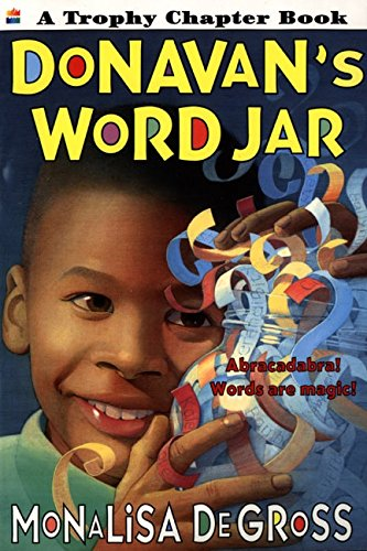 Donavan's Word Jar (Trophy Chapter Books) por Monalisa Degross