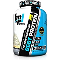 BPI Sports Best Protein, Vanilla Swirl, 5 Pound
