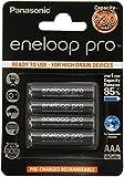 Panasonic 930mAh Eneloop PRO BK-4HCCE/4BE AAA/Micro/LR03 Battery (Pack of 4)