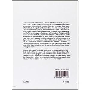 Capitoli di filologia testuale. Testi italiani e r