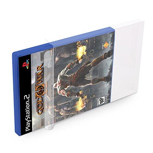 üllen PS2 [10 x 0,3MM PS2] Spiele Originalverpackungen Passgenau Glasklar (Grand Theft Auto Wii)