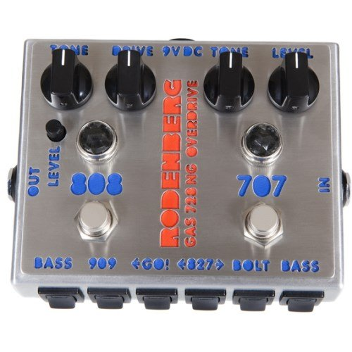 RODEN BERG ELECTRONIC DE GAS 728NG–CLEAN BOOST/OVERDRIVE
