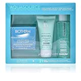 Biotherm Aquasource Everplump Cream 50Ml + Biosource Purifying Espumaing Cleanser 50Ml + Biosource...