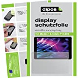 dipos I 2X Schutzfolie matt passend für Medion Lifetab P10400 Folie Bildschirmschutzfolie