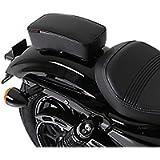 Sellino Passeggero per Harley Davidson Sportster 883 Low (XL 883 L) con Ventose nero