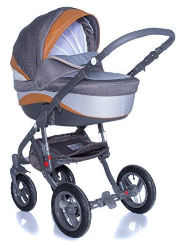 Kombi Kinderwagen Travel System Adamex Barletta New B1 3in1 Buggy Sportwagen Babyschale Autositz Kite 0-13kg