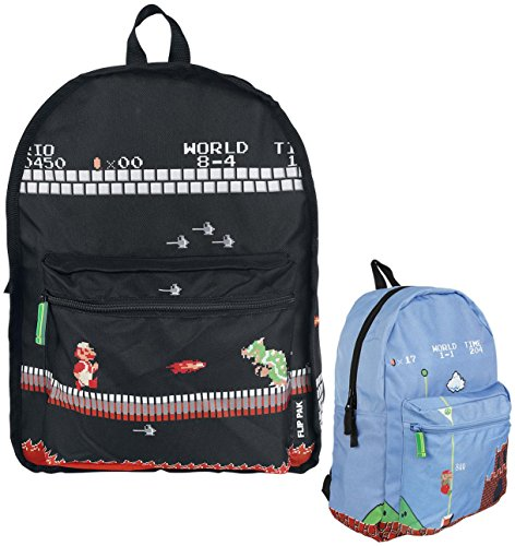 Nintendo–Mario juego Unisex Reversible mochila Casual Daypack, n