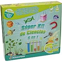 Science4you - Súper kit de ciencias 6 en 1