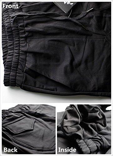Broki -  Pantaloni sportivi  - Uomo Black