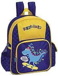 Preisvergleich für SPEAR® Kinderrucksack Skater Dino SAURUS 387 Peppy`s Design Rucksack mit Brustgurt und Adressfach in 3 Farbkombinationen...