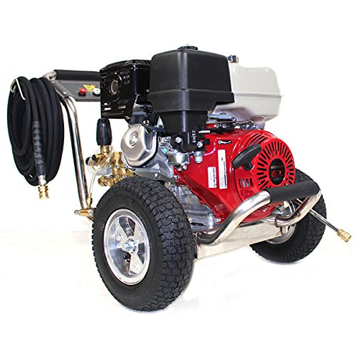 PE-4013HWPSGEN 4000psi 389cc Honda GX390 Powered Pressure Washer