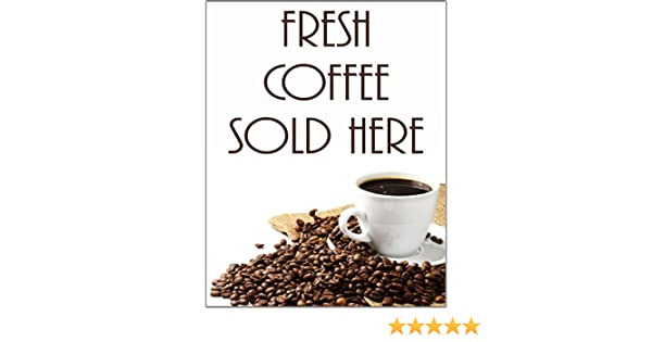 Catering Sign Window Cafe Restaurant Ice Cream Hot Drinks Sold Here Sticker