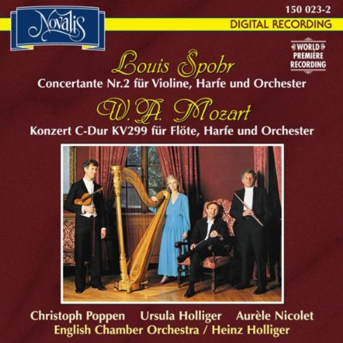 Spohr, Mozart: Harp Concertos (Flöten- und Harfenkonzert)