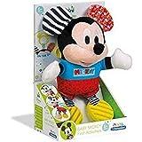 Clementoni Disney Baby 17165 Baby Mickey First Activities, Peluche Baby Mickey