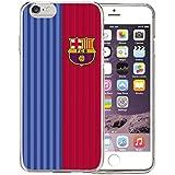 FC Barcelona BRCI024 - Funda TPU 1ª equipación 2016 para Apple iPhone 6/6S