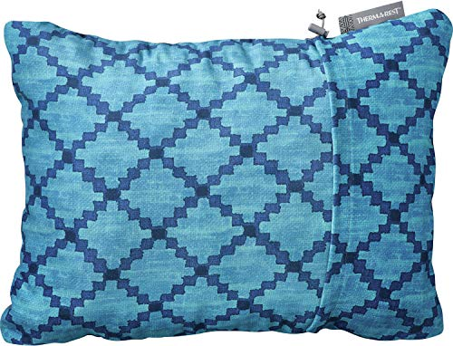 Therm-a-Rest Compressible Pillow M Blue Heather 2019