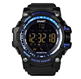 Dromatec® SPORT Smart Watch Bluetooth nuoto impermeabile 30m consumo di calorie notifica...