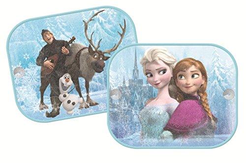 Disney 2Stück Frozen Set Auto Fenster Sonnenschirme UV-Jalousien Visier Mesh Kinder Kids Baby Junge Mädchen SUN Shades Größe: 44cm x 36cm