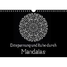 Entspannung und Ruhe durch Mandalas (Wandkalender 2018 DIN A4 quer): Mandalas zum Enspannen und Ausmalen (Monatskalender, 14 Seiten ) (CALVENDO Kunst) [Kalender] [Apr 08, 2017] Langenkamp, Heike