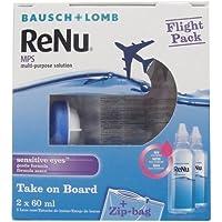 Bausch & Lomb Renu MPS Solution Multifonction pour Lentilles de Contact–Flight Pack