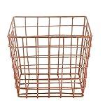 Best Design Art Fils Porte-clés - Storeindya Square Wire Basket Boîte de rangement en Review