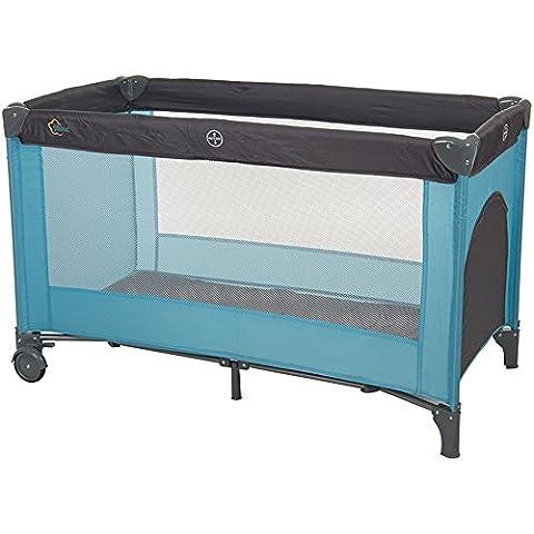Fillikid Reisebett Standard hellblau-grau